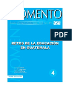 Retos Educacion Guatemala Asies 2010