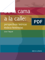 De La Cama a La Calle. PDF