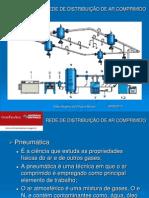 Distribuição rede de ar comprimido