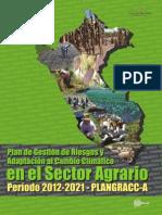 Plan de Gestión de Riesgos y A al CC en el Sector Agrario