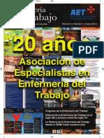 Enfermería del Trabajo, volumen 4, número 1, 2014