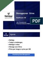 NetApp Storage on Demand by Jan Kloosterman, Financial Solutions Manager, NetApp