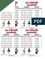 Adjectifs Possessifs Tableau