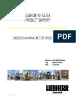 Chequeo Piloto Motor Diesel MTU