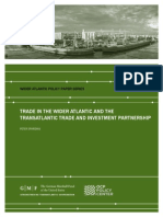 Trade in the Wider Atlantic and the Transatlantic Trade and Investment Partnership