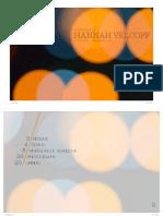 Hannah Velcoff Portfolio