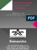 Presentación manual de bienvenida 5ta oferta educativa