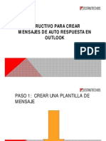 Instructivo Respuesta Automatica Outlook