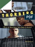 Flyer zum Dokumentarfilm Thorberg