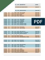 Public Timetable Summer 2014