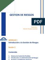 Gestion de Riesgos - Sesion Dos