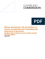 Prevention of Money Laundering and Combating the Financing of Terrorism Guidance for Remote and Non-remote Casinos - July 2013