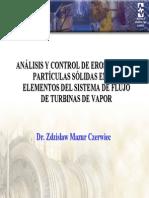 Analisis y Control de Erosion Por Particulas Solidas