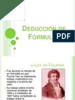 Deducción de Fórmulas