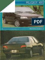 Manual de Usuario Peugeot 405