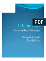 AP Chem - Unit 2