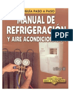 Manual de Refrigeracion en Word