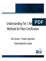 Understanding Tier 1 Reference Methods for Fiber Certification - Ron Groulx