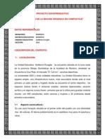 Proyecto Socioproductivo Guillermo Kruegler El Compostaje