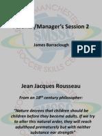 Parents' & coaches session 2