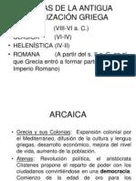 Contexto histórico de la Antigua Grecia.PLATON