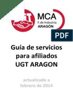 Guía de servicios afiliados ugt aragon