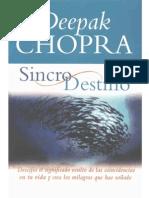 Chopra Deepak Sincronicidad y Destino1