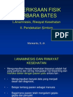 Pemeriksaan Fisik Barbara Bates
