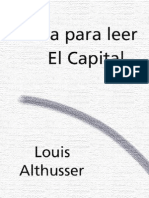Althusser Louis - Guia Para Leer El Capital