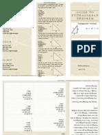 preview of pythagorean theorem copy