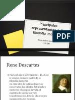 2.Principales representantes de la filosofía  moderna