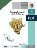 PANORAMA MINERO DEL ESTADO DE DURANGO
