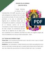 ROSARIO DE LAS LÁGRIMAS