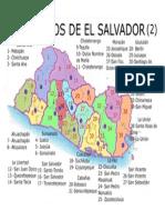 Distritos de El Salvador