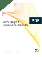 BSSPAR 1 Radio Resource Admin