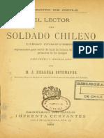 El Lector Del Soldado Chileno. Libro Compuesto Espresamente Para Servir de Texto en Las Escuelas Primarias de Los Cuerpos. (1890)