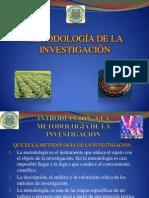 UNIDAD I  METODOLOGÍA DE LA INVESTIGACIÓN