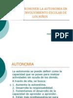 Como Promover La Autonomia en El Desenvolvimiento Escolar