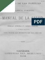 El Libro de Las Familias. Cuarta Parte. Manual de Salud. 1876