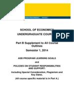 Course Outline Part B