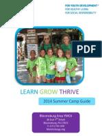 Summer Camp Program Guide