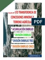 Proyecto Minero Embrujo Fin