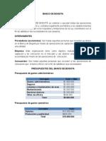 Banco de Bogota Elementos Negociacion