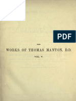 The Complete Works of Thomas Manton, D.D. Vol 5