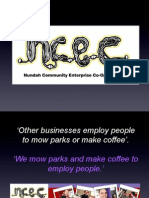 The Nundah Community Enterprises Cooperative (NCEC ltd)  Story ( in 17 slides !)