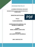 Plan de Marketing Cebe 06- Rep Dominicana