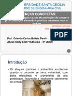 Principais Causas Das Patologias Concreto