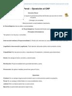 Tema 10 Derecho Penal Oposicin Al CNP