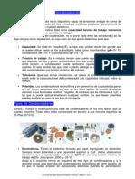 clasificación de condensadores
