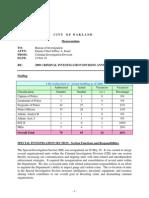 Oakland Police Department Criminal Investigation Division Report 2009